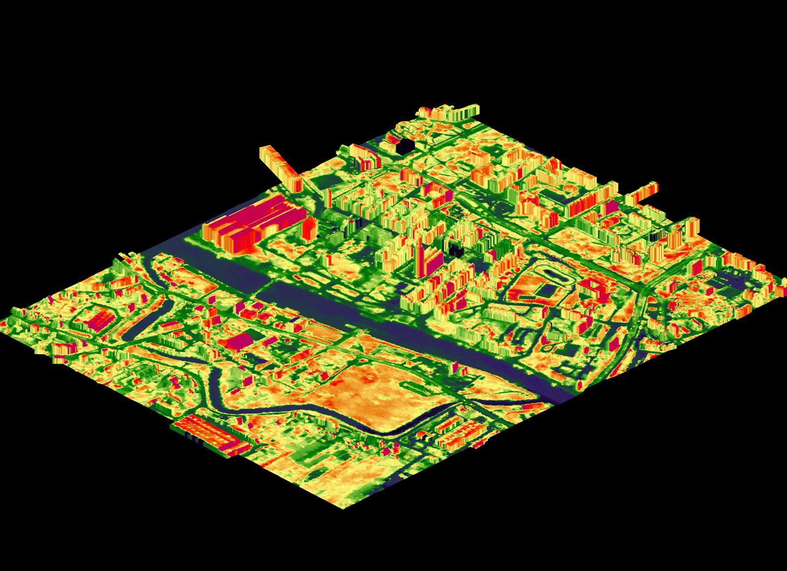 Wykonanie mapy termalnej dla Elbląga