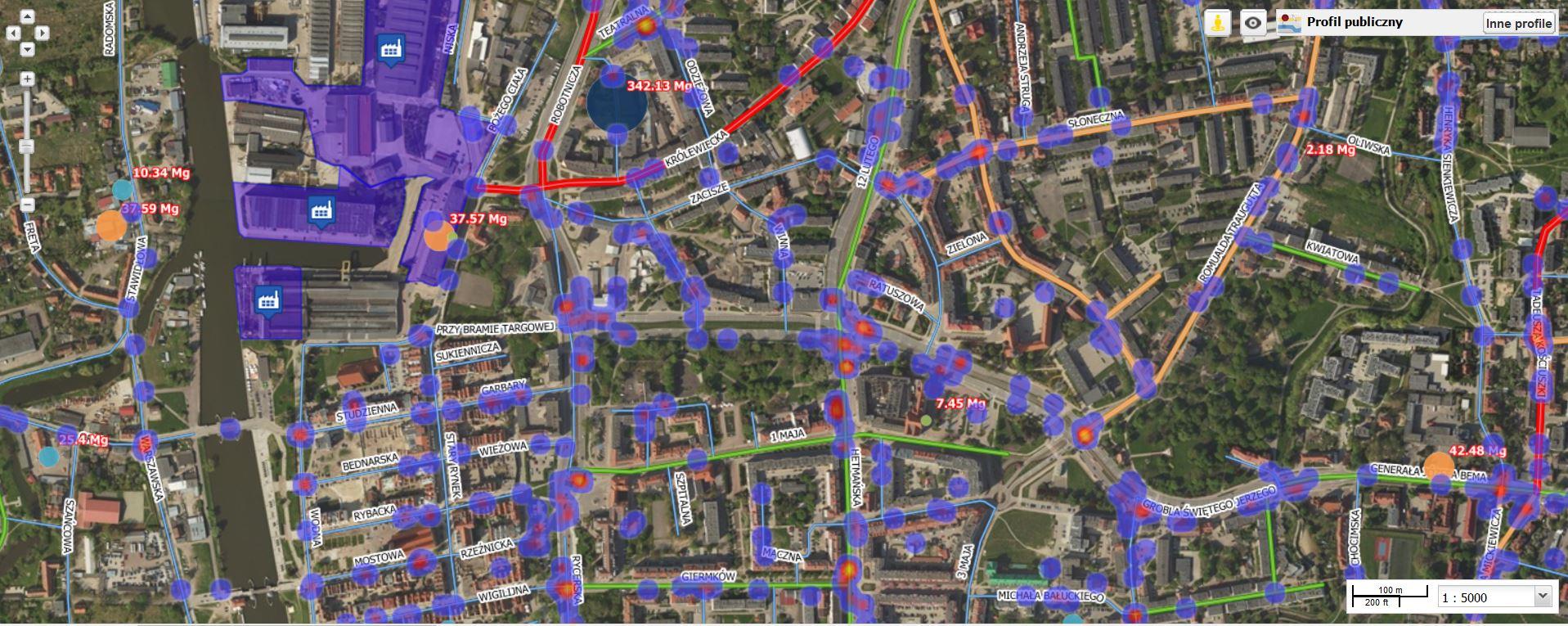 Analizy geospatial intelligence
